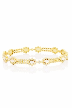Shoptiques Product: Lacy Bangle Bracelet