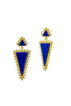 Shoptiques Product: Lapis Vermeil Earrings