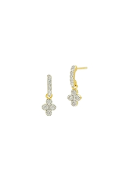 Freida Rothman  Petite Clover Earrings - Alternate List Image