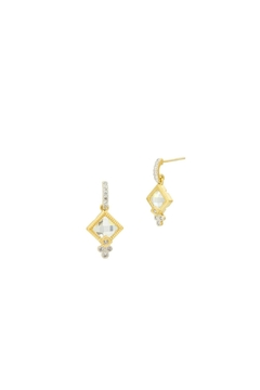 Freida Rothman  Petite Drop Earrings - Alternate List Image