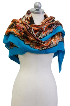 Cuccia Italia French Anton Scarf - Alternate List Image