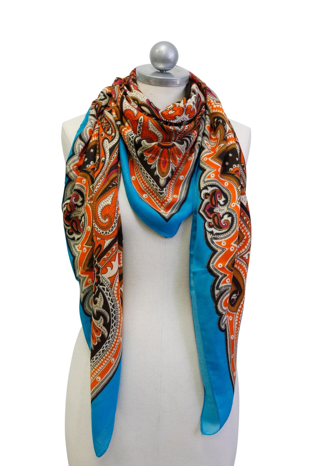 Cuccia Italia French Anton Scarf - Front Cropped Image