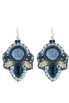 Shoptiques Product: French Blue Earrings