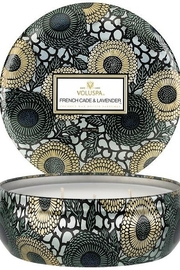 Voluspa French Cade Lavender 3 Wick Candle Tin - Product Mini Image