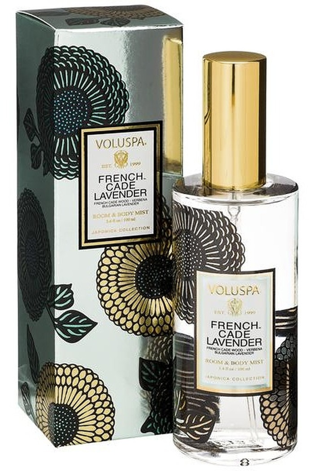 Voluspa French Cade Lavender Room & Body Mist - Front Full Image