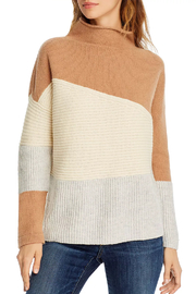 French Connection FRENCH CONNECTION COLOR BLOCK SWEATER - Product Mini Image