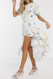 French Connection FRENCH CONNECTION FLORAL DRESS - Front cropped