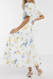 French Connection FRENCH CONNECTION FLORAL DRESS - Side cropped