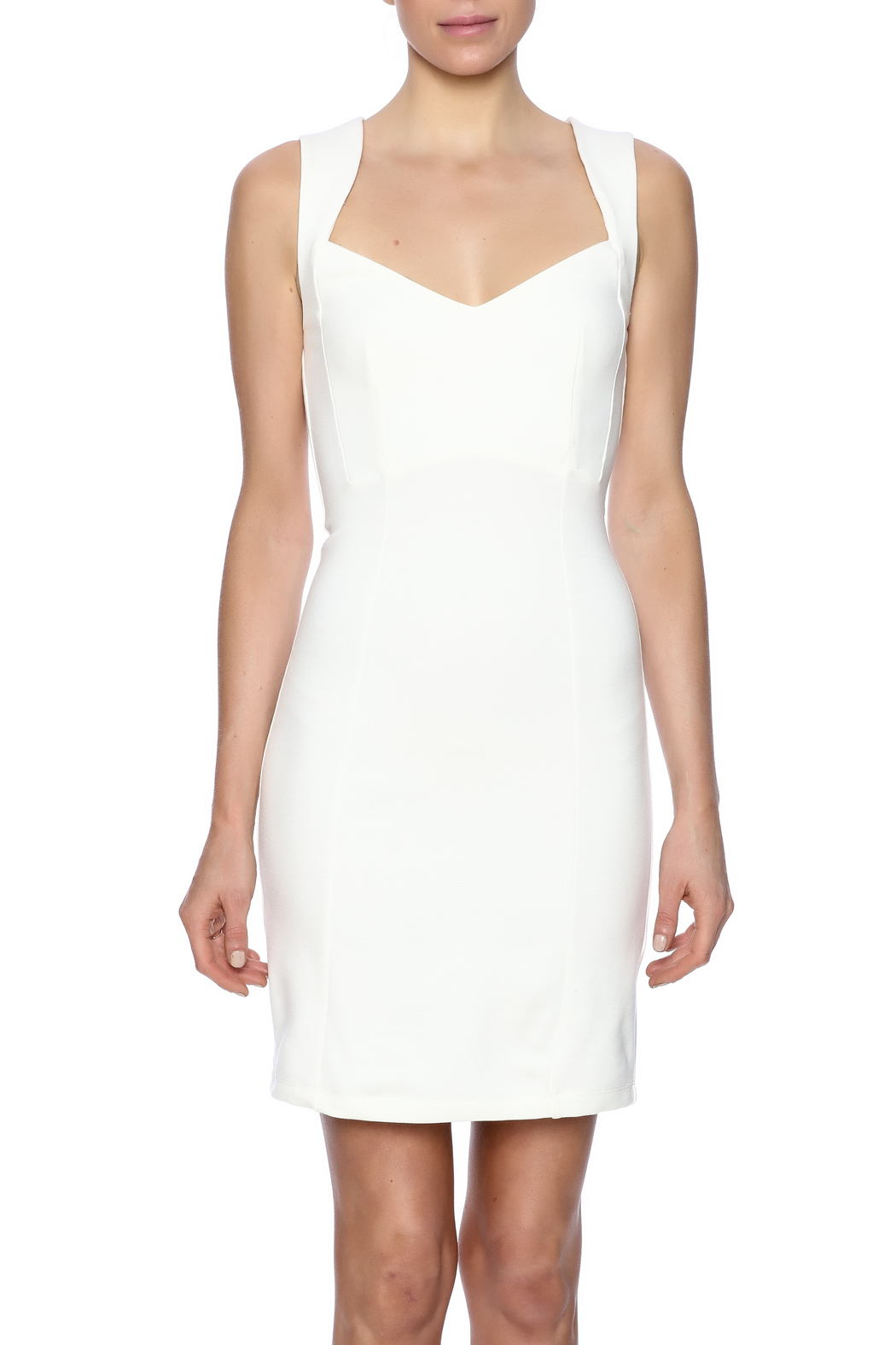 French Connection Sleeveless Dress - Side Cropped Image
