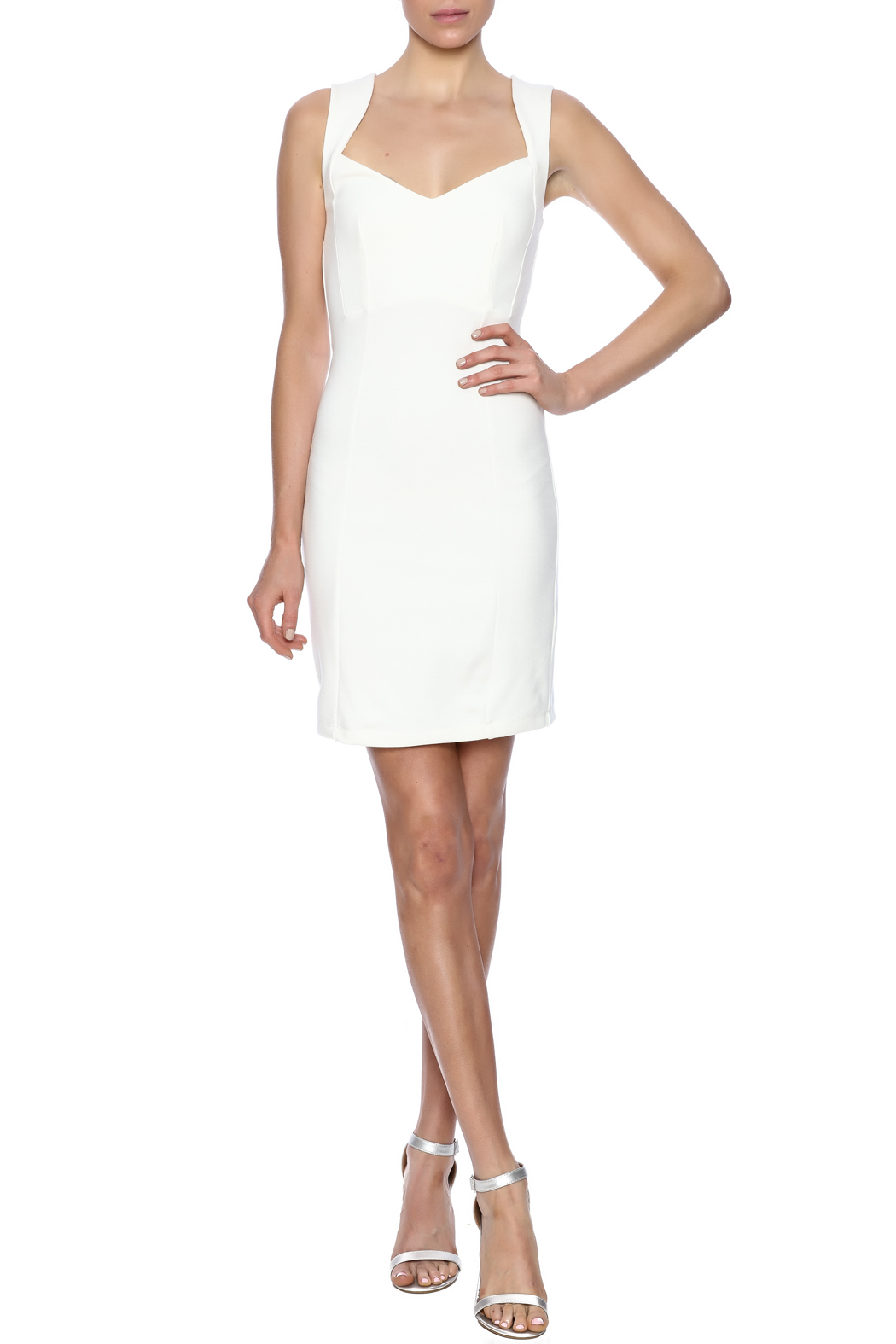 French Connection Sleeveless Dress - Front Full Image
