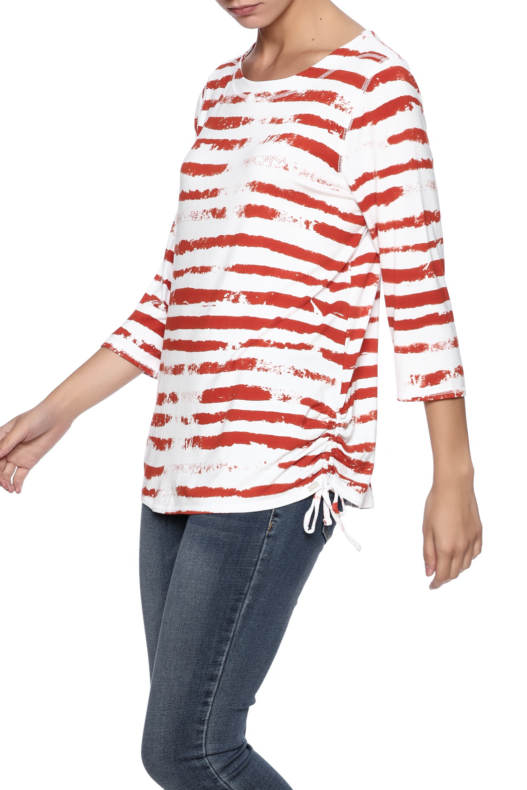 French Dressing Jeans Cloud Stripe Top - Main Image