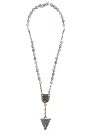 French Kande Aquamarine necklace - Product Mini Image