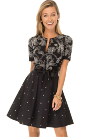 Gretchen Scott French Knot Dress - Product Mini Image