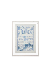 Maison A French Label Framed Print - Product Mini Image