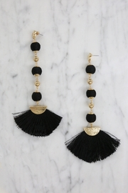 Ettika French Maid Earrings - Front cropped