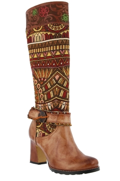 Spring Footwear French Mosaic Boots - Product List Image