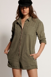 One Teapoon French Prophecy Jumpsuit-kahki - Product Mini Image