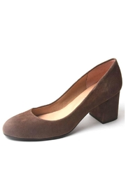 French Sole Trance Suede Pump - Front cropped