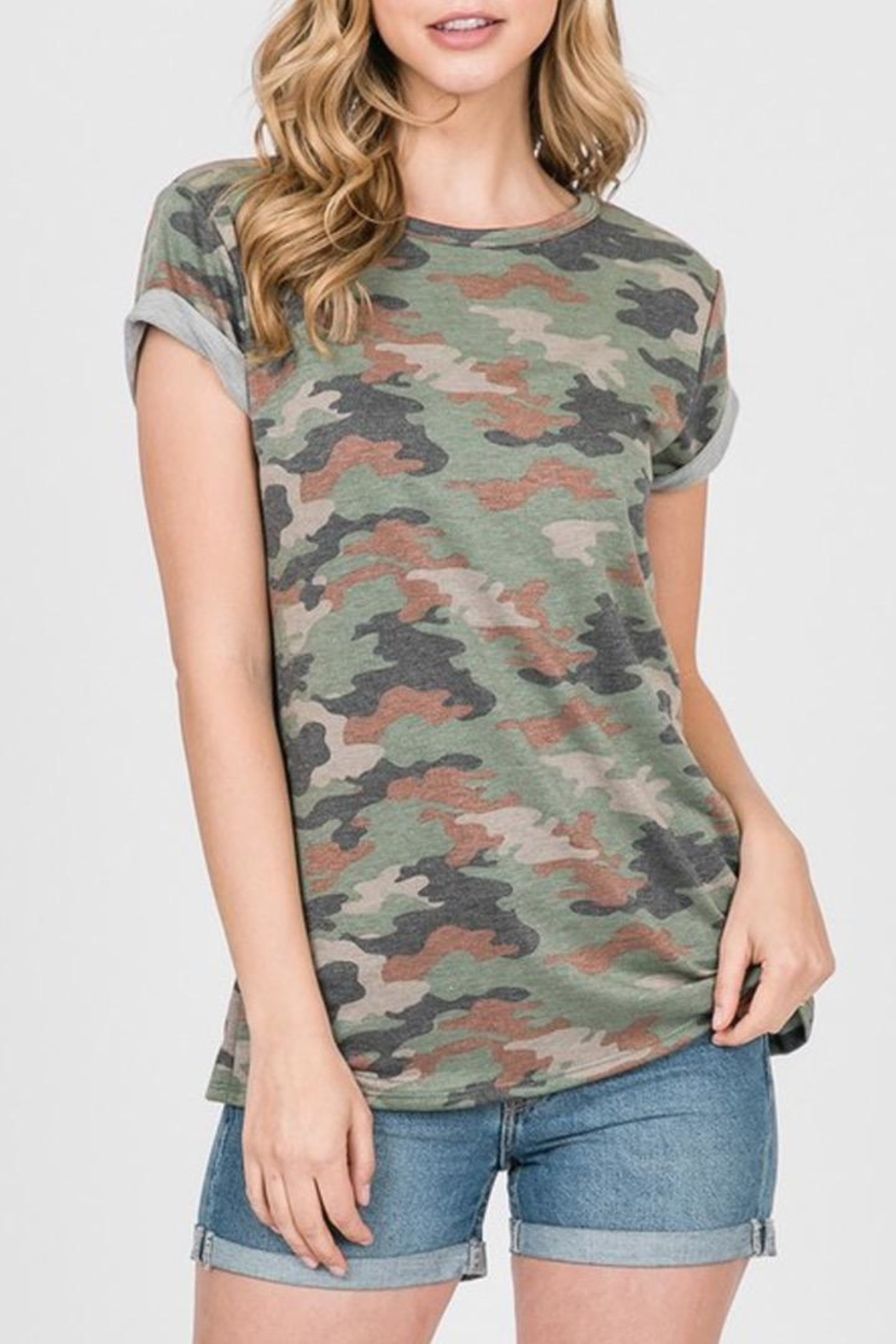 Ces Femme French-Terry Camouflage Shirt - Main Image