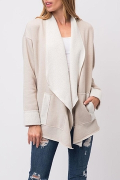 Shoptiques Product: French Terry Cardigan