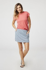 Carve Designs French-Terry Daniela Skirt - Front cropped