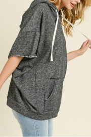 Maple Sage French terry dolman sleeve hoodie - Front full body