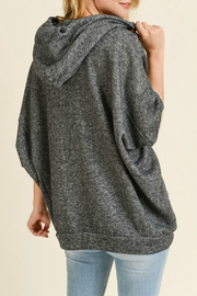 Maple Sage French terry dolman sleeve hoodie - Side cropped