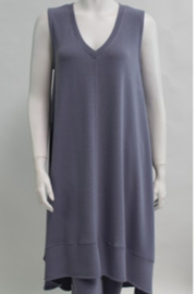 Nally & Millie French Terry Hi-Low Tank Dress - Product Mini Image
