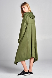 Racine French Terry Hooded-Poncho - Product Mini Image