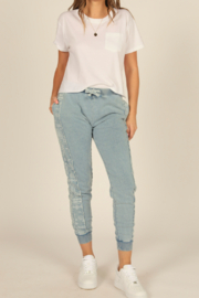 Vintage Havana  French Terry Jogger - Product Mini Image