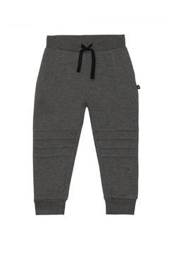 Shoptiques Product: French Terry Jogger - Dark Heather Grey