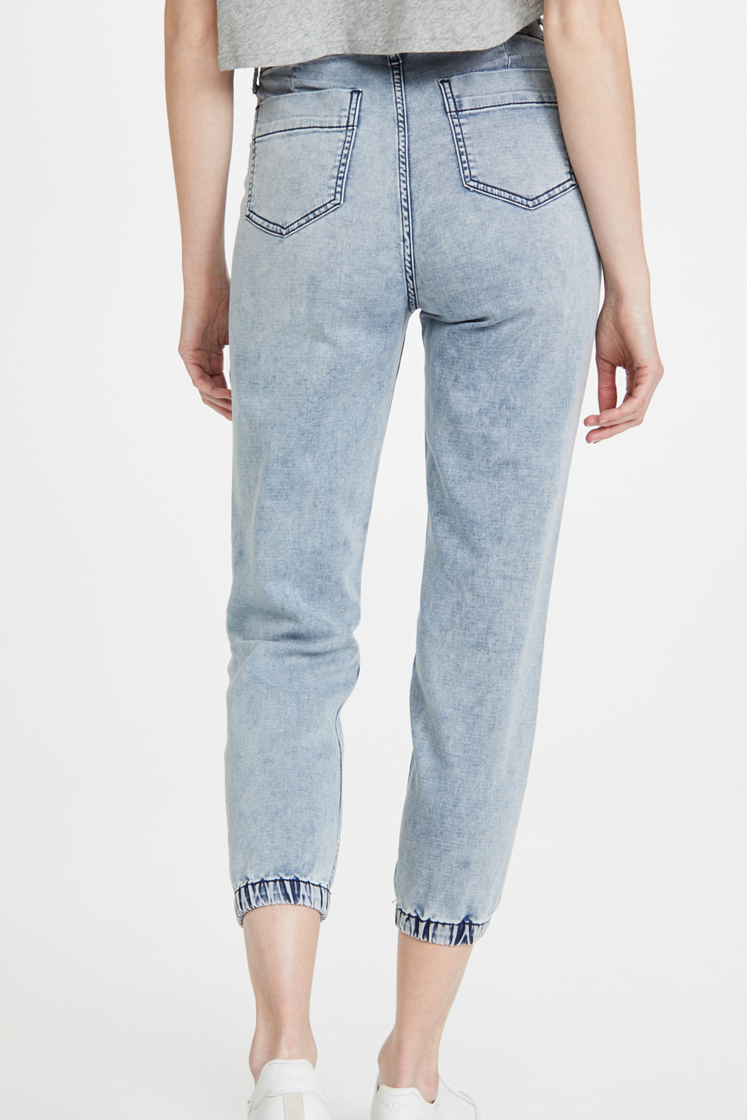 Joe's Jeans French Terry Jogger Iris - Front Full Image