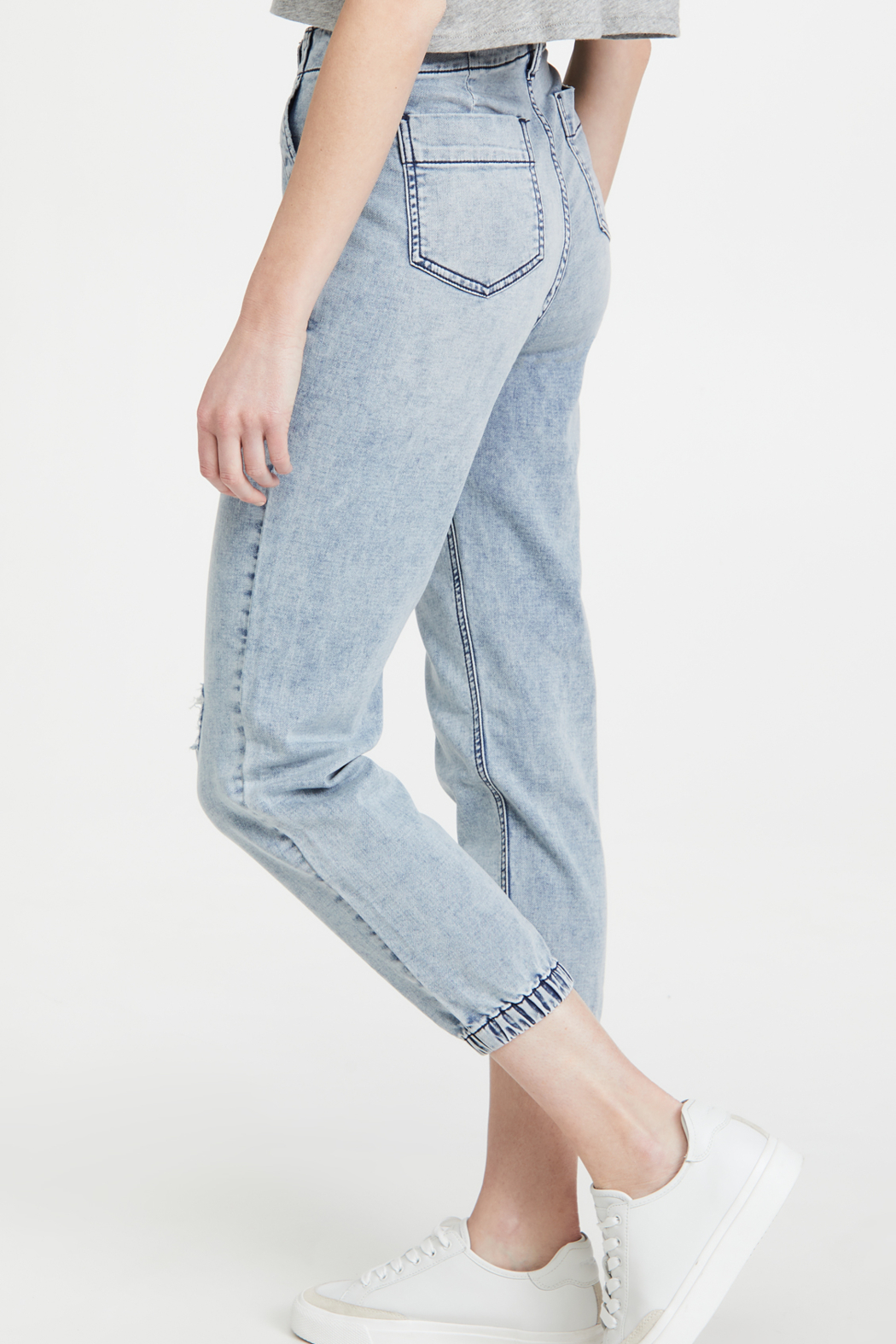 Joe's Jeans French Terry Jogger Iris - Side Cropped Image