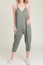 Wasabi + Mint French Terry Jumpsuit - Product Mini Image