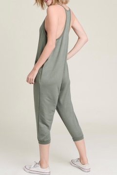 Wasabi + Mint French Terry Jumpsuit - Alternate List Image
