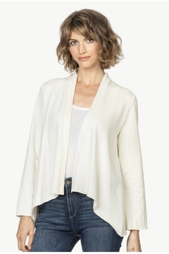 Lilla P French Terry Open Cardigan - Product List Image