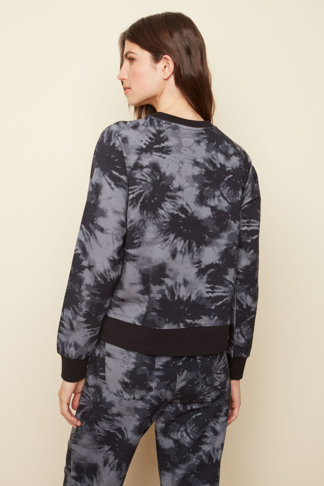 Charlie B. French Terry Printed Top - Side Cropped Image