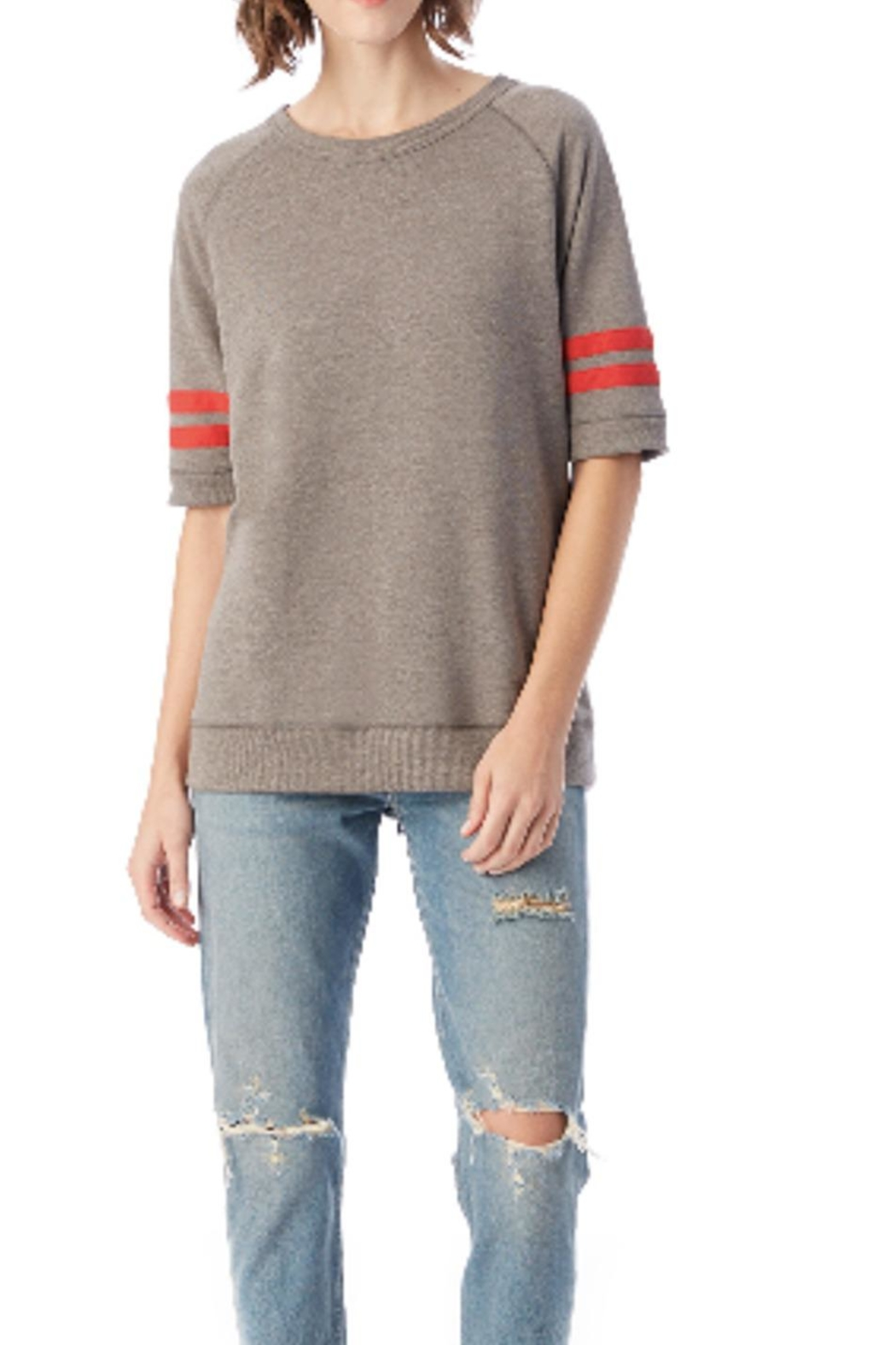 Alternative Apparel French Terry Pullover - Front Full Image