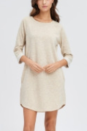 Lyn-Maree's  French Terry Raglan T-Shirt Dress - Front cropped