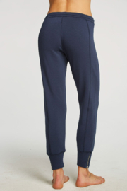 Chaser French Terry Side Zip Joggers - Side cropped