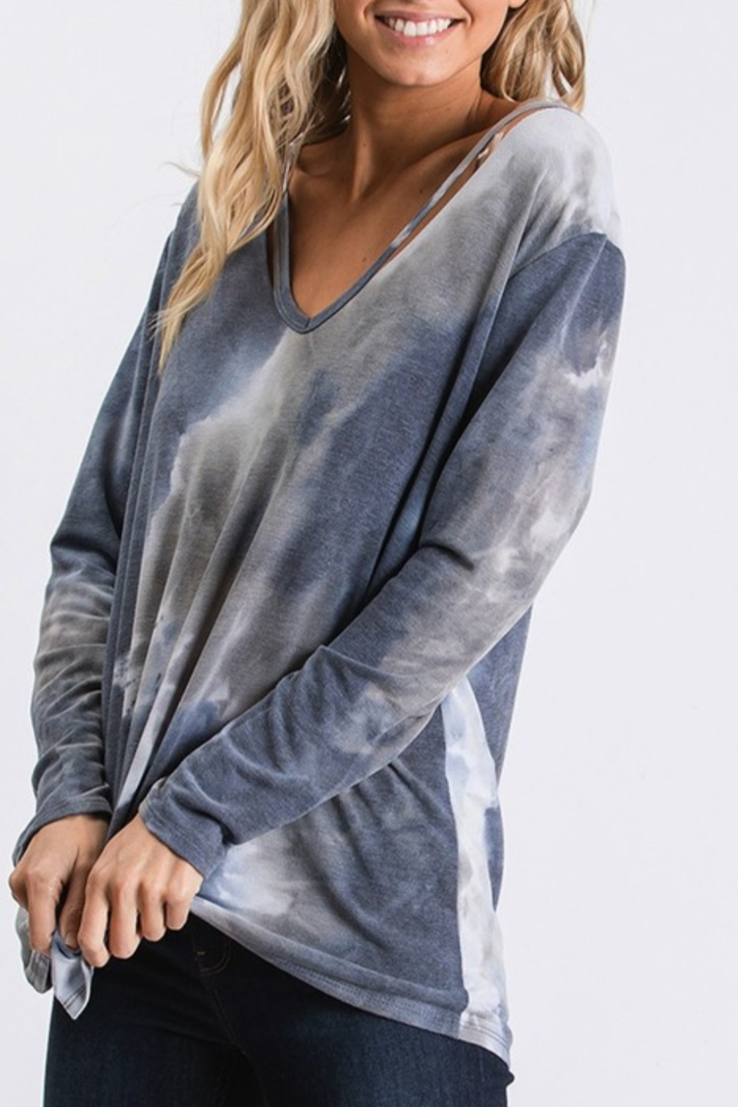 CY Fashion French Terry Tie Dye - Side Cropped Image