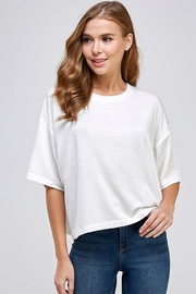 Caramela French Terry Top - Product Mini Image