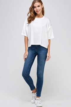 Caramela French Terry Top - Alternate List Image
