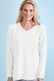 Fresh Produce French Terry Top - Front cropped