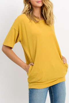 Cherish French Terry Tunic Top - Product List Image