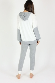 Six Fifty French Terry Two Tone Jogger - Side cropped