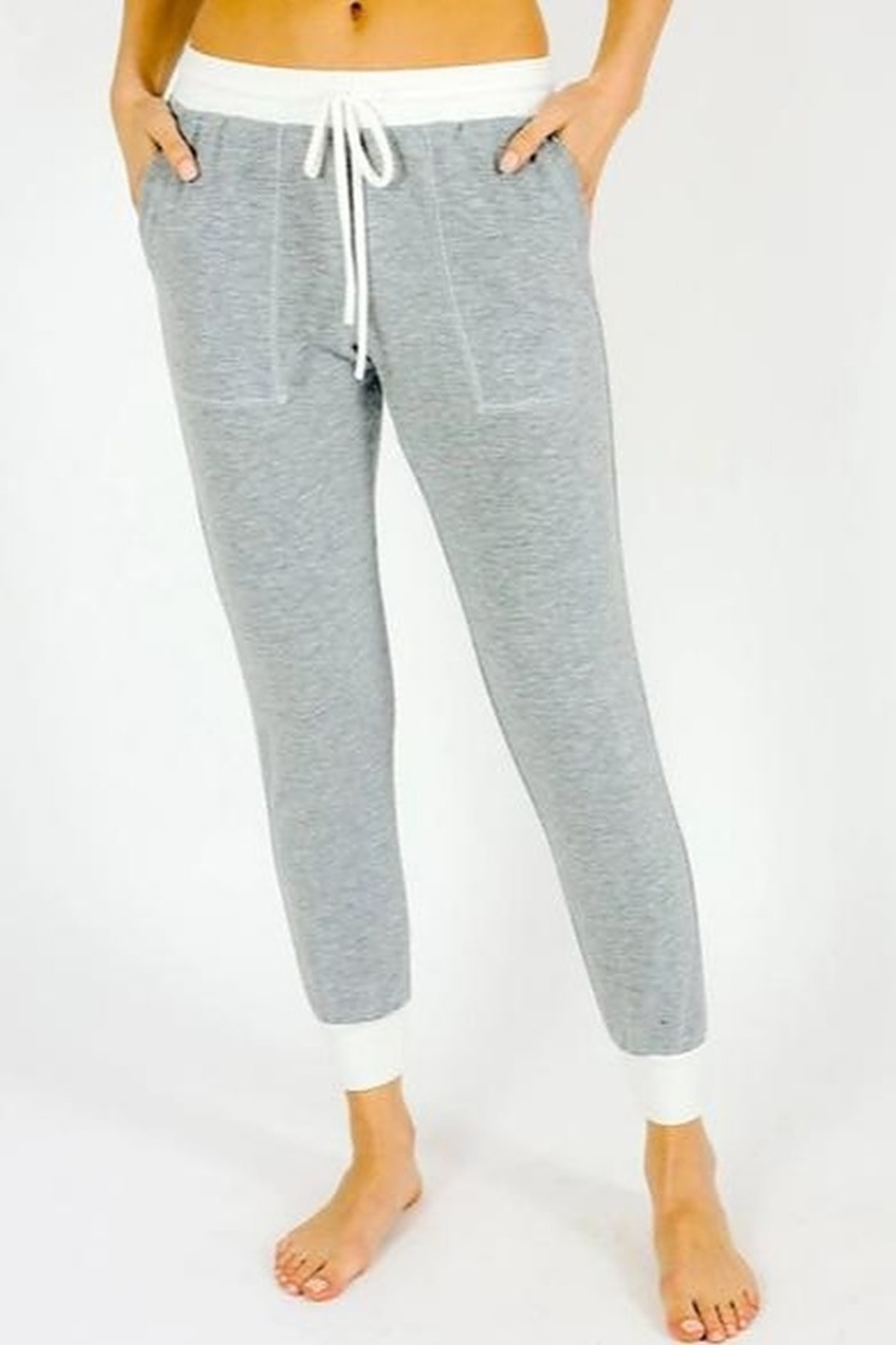 Six Fifty French Terry Two Tone Jogger - Main Image