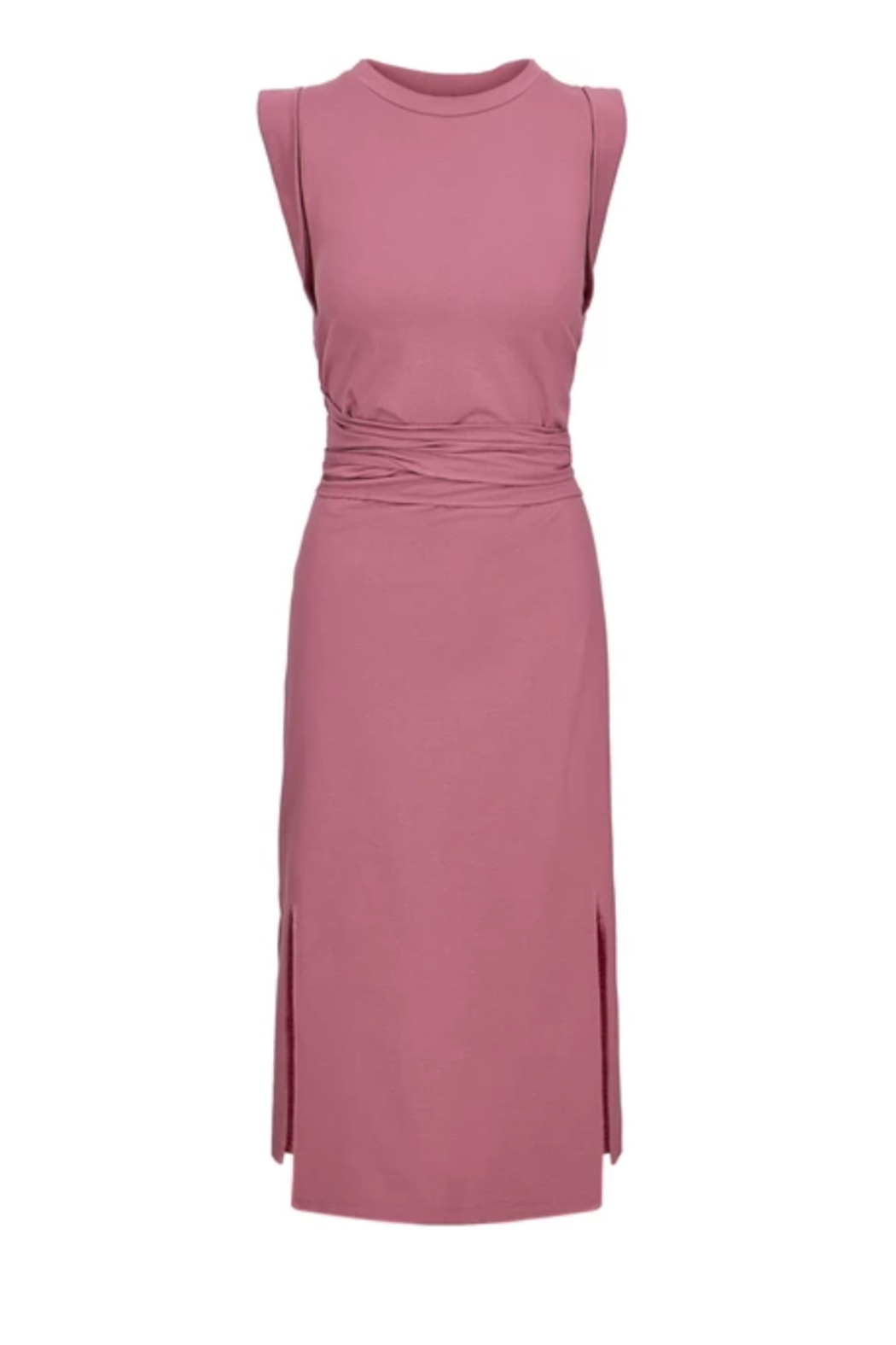 Bishop + Young French Terry Wrap Dress - Main Image