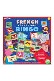 Eeboo French Vocabulary Bingo - Product Mini Image