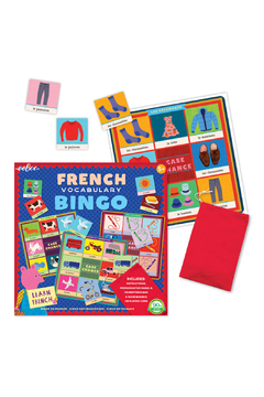 Eeboo French Vocabulary Bingo - Alternate List Image